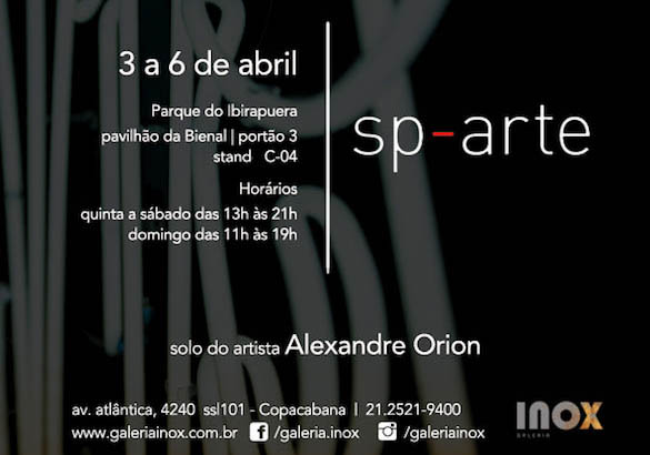 Alexandre Orion | Lampoonist | SP-Arte 2014
